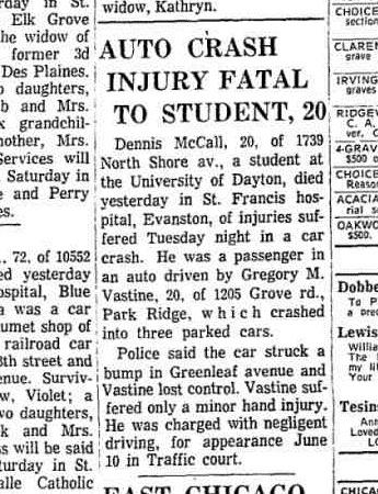 denny died